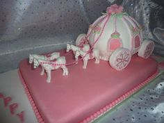 horse and carriage cake | Princess Carriage Cake - by irisheyes @ CakesDecor.com - cake ...