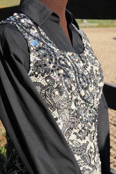Sittin Pretty Show Clothing 2013.  Western Pleasure/Trail/Western Riding vest! Sittin Pretty Show Clothing on FB!