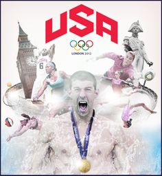 Michael Phelps and Team USA, London 2012 Olympic Games #tbt #throwbackthursday