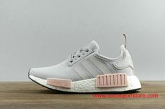 Adidas NMD_R1 W BY3058 Light Grey Pink Women's Shoes