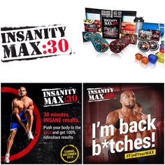 He's back with another one Shaun T has done it again with INSANITY MAX:30 coming this December contact me at brittanyweeks@beachbodycoach.com for more information