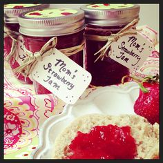 Strawberry Jam made with our FreshTECH Automatic Jam & Jelly Maker – made in less than 30 minutes