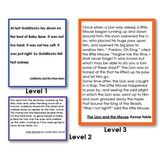 Montessori 123 - Dramatic Interpretive Reading Cards Set of 3 Levels - Montessori Materials