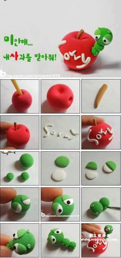 Clay Crafts Fimo Sculpey Modelling Polymer Crafts with Sculpting clay Free Kids Activities Clay Projects Templates and Ideas Cute Adorable Kawaii Critters and Creatures Crea Fimo, Fimo Clay, Polymer Clay Projects, Polymer Clay Charms, Polymer Clay Creations, Polymer Clay Art, Clay Crafts, Cupcake Torte, Cupcakes