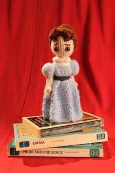 Pattern for Jane Austen Amigurumi by WonderAnn on Etsy
