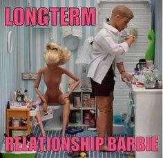Longterm relastionship barbie