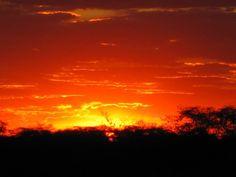 Zimbabwe... incredible African sunset