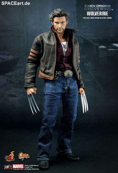 X-Men: Wolverine, Voll bewegliche Deluxe-Figur ... http://spaceart.de/produkte/xmn002.php