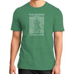 Pug Division District T-Shirt (on man)