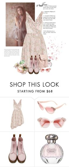"""She is so lovely"" by nicolesynth ❤ liked on Polyvore featuring Elizabeth and James, Kate Spade, Dr. Martens, Tocca and Tory Burch"