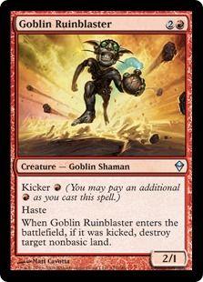 Goblin MTG Cards Mythic   Goblin_Ruinblaster_ZEN.jpg