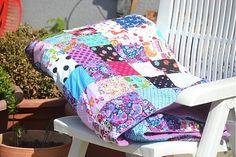 Beatrice-Bibi / Patchworková deka....
