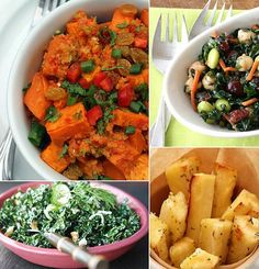 Vegetarian Side Dishes from fitsugar.com I'm not a vegetarian but Veggies, and sides are some of my favorite things.