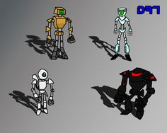 Androids Concepts by DRamos97 on DeviantArt