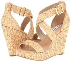 STEVE MADDEN Haywire Wedges Natural $69 ON SALE  http://shopatcrystalbeach.com/STEVE-MADDEN-Haywire-Wedges-Natural-69-ON-SALE-SMhwrn5.htm