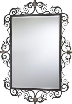 Aged Fantasy Wall Mirror Via Opulent Items. See More. Mirrors