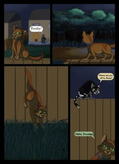 Warriors: Into the Wild- page 4 by Winggal on DeviantArt