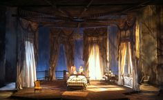 Cat on a Hot Tin Roof. Scenic design by Christopher Oram.