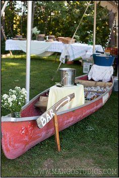 Canoe bar? Ooooh I dono about that. ;)