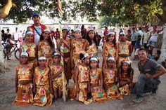 El grupo de danza de Cicuco