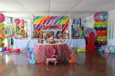 Candy Land Party.