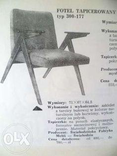 """Fotel Typ 300-177 potoczna nazwa """"Zajączek"""""""