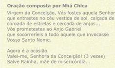 Nhá Chica: https://www.facebook.com/pages/Gra%C3%A7as-da-Nh%C...