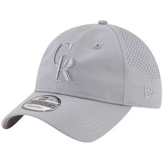 huge discount 623b8 3a2d2 Men s Colorado Rockies New Era Gray Perforated Tone 9TWENTY Adjustable Hat,  Your Price   25.99
