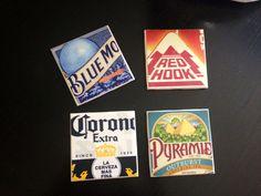 Post-Grad Crafting: DIY Beer Coasters