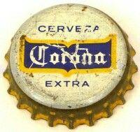 Corona Extra, beer bottle cap | Cerveceria, Medelo, Mexico City, Mexico | Begin brewing Corona in 1925.
