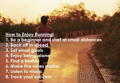 Learn to Love Running