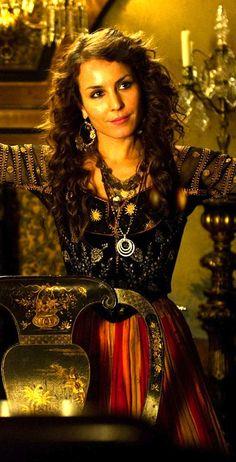 Sherlock Holmes: A Game of Shadows with Noomi Rapace as Madam Simza Heron. Costume Designer: Jenny Beavan
