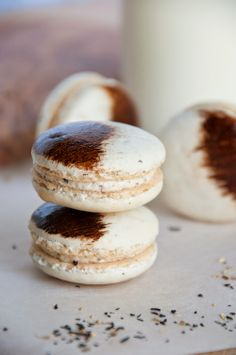 Chai Spiced Macarons via Sweet Boake