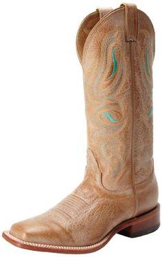 Nocona Boots Women's Honey Cowhide Boot - http://shoes.goshopinterest.com/womens/boots/riding/nocona-boots-womens-honey-cowhide-boot/
