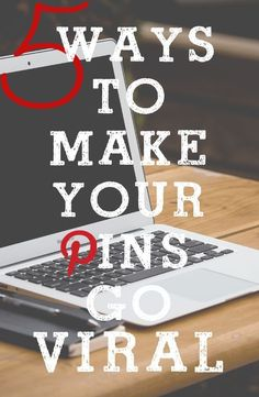 Would you like to see your pins go viral? Here are 5 really good tips to Make it happen.....some interesting ideas #pinterest