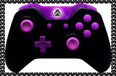 XboxOne Controller Purple Out