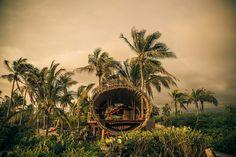 En ella se invita a los huéspedes a meditar y disfrutar del ambiente.