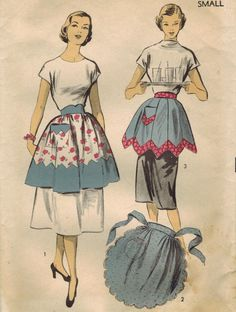 1950S Advance 5883 Vintage Sewing Pattern Misses by midvalecottage