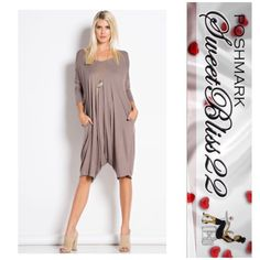Mocha Mocha Jumpsuit  Spring is here! Why not treat yourself to this beauty here! Dress it up.with heels and a scarf, or add a cute pair of flats! Either way you are beautiful! Comes in SML! Also available in black! Don't miss out! No offers accepted! Prices are firm Pants Jumpsuits & Rompers
