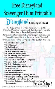 Want a fun new twist for your next Disneyland Resort visit? Try our Disneyland Scavenger Hunt. Free 2 page printable! Disneyland Secrets, Disney Secrets, Disney World Tips And Tricks, Disney Tips, Disney Fun, Disney Parks, Disney Travel, Disney Ideas, Walt Disney