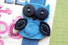 Elastic Owl bookmark