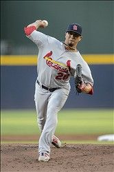 starting pitcher Kyle Lohse - not a good night for Lohse.  5-30-12