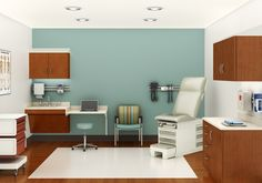 Folio Exam room from Nurture @ Steelcase