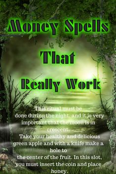 Money Spells that Really Work Money Spells that Really Work Get Back Your Ex Lover. Love Spell Casting by Professional Spell Caster. Powerful Money Spells, Money Spells That Work, Spells That Really Work, Love Spell That Work, Hoodoo Spells, Magick Spells, Prosperity Spell, Luck Spells, Money Magic