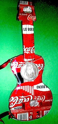 Coca-Cola Recycled Cans Guitar
