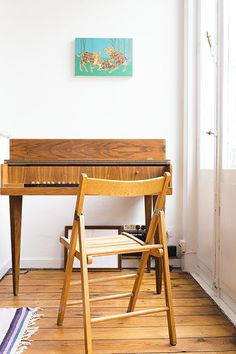 Piano in the home of musician Bent Van Looy, featured on Coffeeklatch, the creative chitchat: http://www.coffeeklatch.be/en/interview/2013-03/33/bent-van-looy