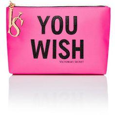 Victoria's Secret Large Graphic Cosmetic Bag