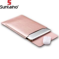 PU Leather Laptop Bag for macbook air 13 11 pro 13 15 12 laptop case notebook bag computer bag For Macbook Case Pouch //Price: $12.43//     #Gadget