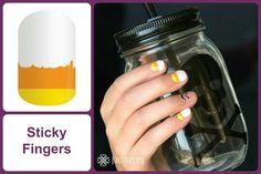 STICKY FINGERS Jamberry Nail Wraps #StickyFingersJN www.debsjaminails.jamberrynails.net