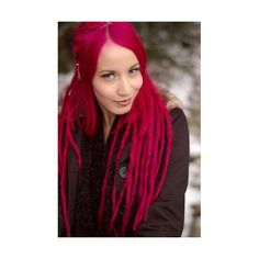Love the Pink Dreads and Lip Piercing Pink Dreads, White Dreads, Manic Panic, Straight Hairstyles, Cool Hairstyles, Curly Hair Styles, Natural Hair Styles, Dread Accessories, Texturizer On Natural Hair
